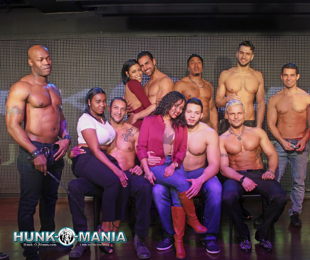 Men of Hunk-O-Mania