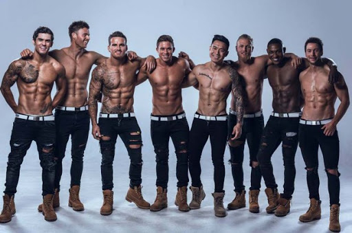 Men of Hunk-O-Mania Group